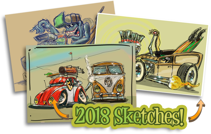 View 2018 Sketches